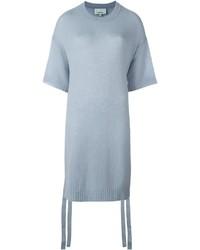 Light Blue Short Sleeve Sweater