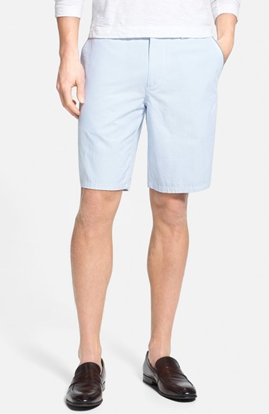 d5682fe37 Hugo Boss Boss Clyde Pinstripe Shorts, £107 | Nordstrom | Lookastic UK