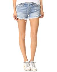 NSF Drai Frayed Cutoff Shorts