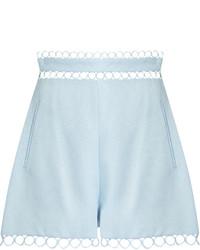 Zimmermann Winsome Circle Lace Shorts