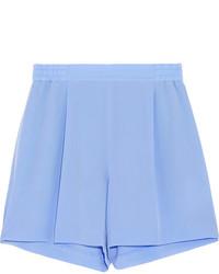 Stella McCartney Zanda Silk Crepe De Chine Shorts