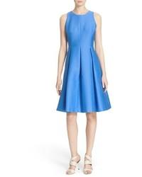 Kate Spade New York Cotton Silk Fit Flare Dress
