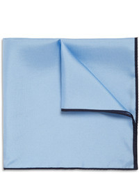 Drakes Silk Twill Pocket Square