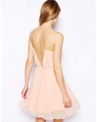 5fc291e580 ... Asos Collection Chiffon Cami Skater Dress ...