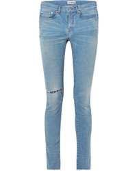 Balenciaga Distressed High Rise Skinny Jeans