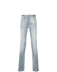 Pierre Balmain Faded Skinny Jeans