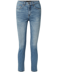 Veronica Beard Faye High Rise Skinny Jeans