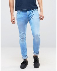 Pepe Jeans Pepe Nickle Skinny Jeans Bleach Wash