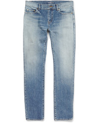 Skinny fit faded washed denim jeans medium 578539