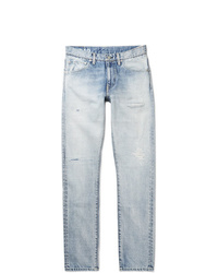 VISVIM Social Sculpture 12d19 Skinny Fit Distressed Denim Jeans