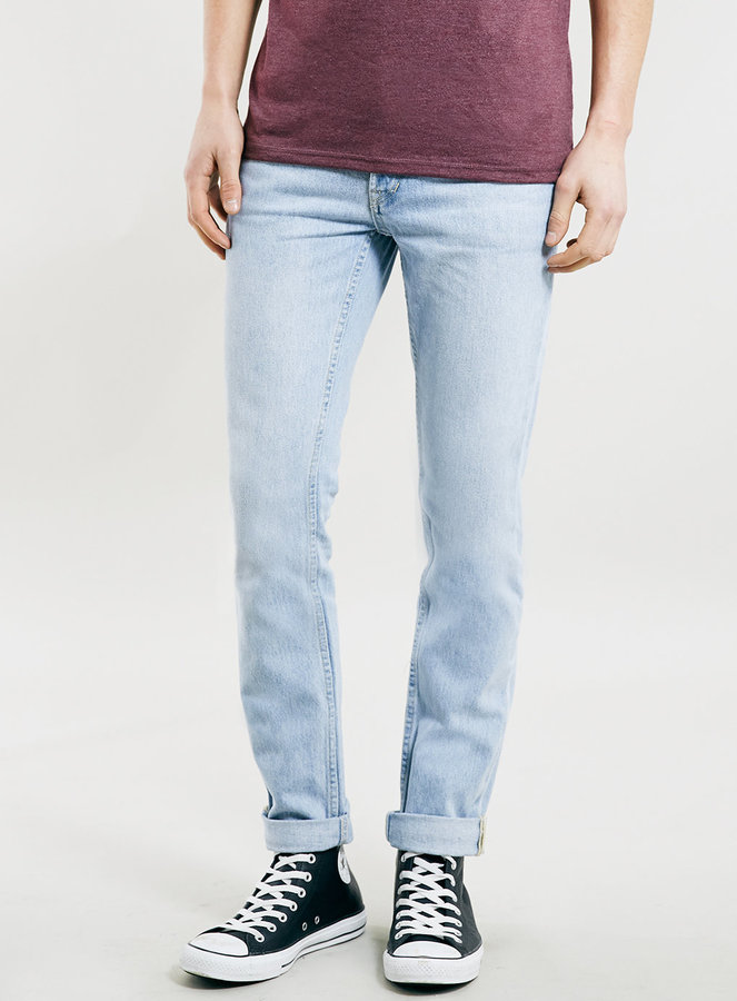 amp; Where Fit Skinny To Topman Classic Wear How Wash Jeans Light Buy 6CnqfF