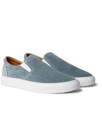 Mr P. Larry Suede Slip On Sneakers