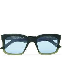 Kirk Originals Burton Square Frame Acetate Sunglasses
