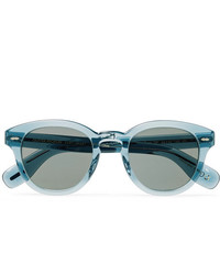 Oliver Peoples Cary Grant Round Frame Acetate Polarised Sunglasses