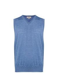 Light Blue Sweater Vest