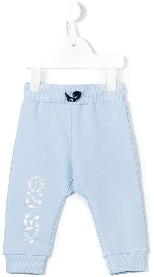 Kenzo Kids Logo Print Track Pants