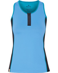 Monreal London Action Stretch Jersey Tank Sky Blue
