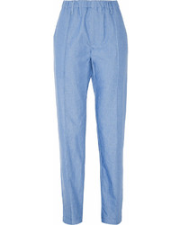 Light Blue Tapered Pants