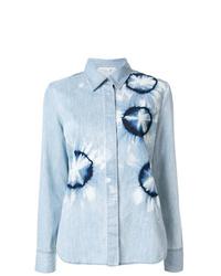 Stella McCartney Tie Dye Denim Shirt