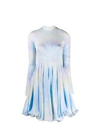 Stella McCartney Tie Dye Lettuce Hem Dress