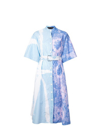 Proenza Schouler Tie Dye Shirt Dress
