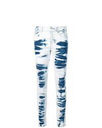 Stella McCartney Tie Dye Skinny Jeans