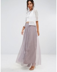 Boohoo Boutique Tulle Maxi Skirt