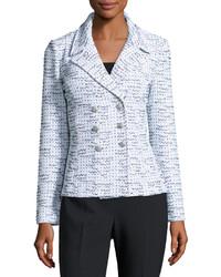 Light Blue Tweed Jacket