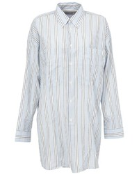 Faith Connexion Oversized Striped Shirt