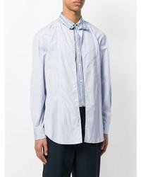 Comme Des Garcons SHIRT Comme Des Garons Shirt Layered Striped Shirt