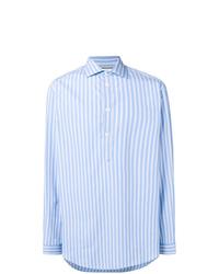 Gucci Oversized Stripe Print Shirt