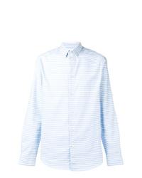 Natural Selection Slate Striped Shirt