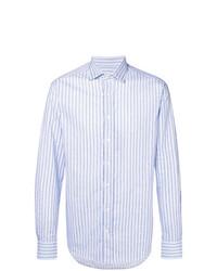 Etro Stitched Striped Print Shirt