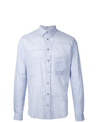 Forme D'expression Striped Panelled Shirt