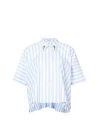 Vivetta Striped Boxy Shirt