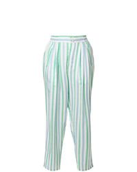 Thierry Colson Striped Tapered Trousers