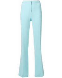 Moschino Boutique Mid Rise Flared Trousers