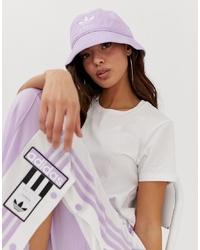 adidas Originals Bucket Hat In Lilac