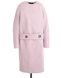 J.Crew Collection Drop Waist Collarless Coat