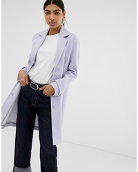 ASOS DESIGN Crepe Coat