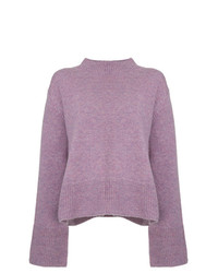 10824dba572 Light Violet Crew-neck Sweaters for Women