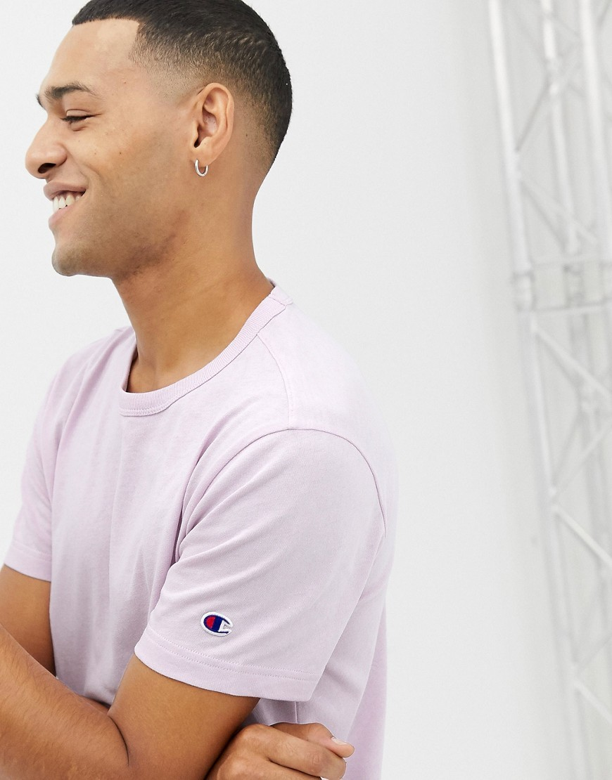 order online so cheap outlet store sale T Shirt With Small Sleeve Logo In Lilac