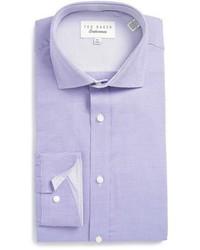 London dequan trim fit texture dress shirt medium 783808
