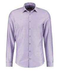 Slim fit formal shirt flieder medium 4163218