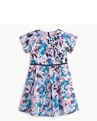 J.Crew Girls Watercolor Floral Dress