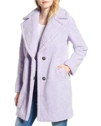 Light Violet Fur Coat