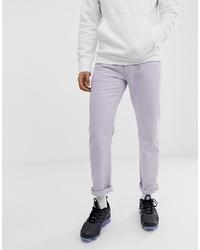 ASOS DESIGN Original Fit Jeans In Lilac