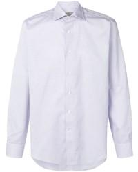 Canali Micro Pattern Shirt