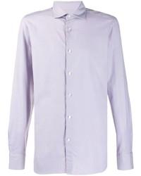 Ermenegildo Zegna Textured Slim Fit Shirt
