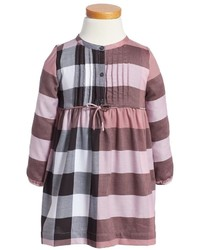 Burberry Toddler Girls Emalie Check Cotton Flannel Dress